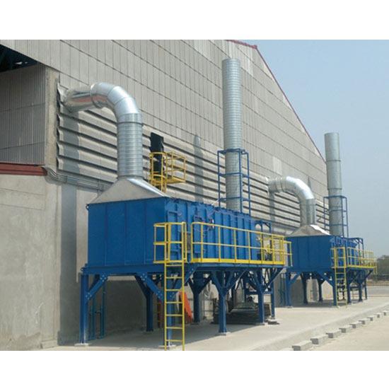 กำจัดมลพิษทางอากาศ - บริษัท 4 พี เทคโนโลยี่ จำกัด - ติดตั้งระบบขจัดมลพิษทางอากาศสำหรับโรงงาน