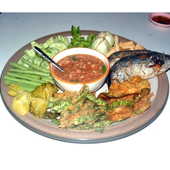 น้ำพริกกะปิ ปลาสำลีแดดเดียว   ผัดกะปิสะตอ   น้ำพริกกุ้งสด   แกงเหลือง   ผักเหมียงผัดไข่   ยำผัดกูด   แกงไตปลา   หลนปลาอินทรีย์   น้ำพริกกะปิ   อาหารคุณภาพ   อาหารใต้ ตรัง   อาหารปักษ์ใต้   อาหารอร่อย   อาหารพื้นบ้าน   รับจัดเลี้ยง