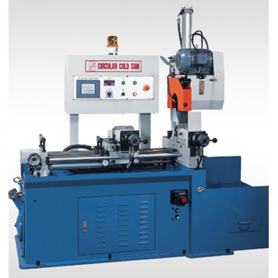 Circular cold saw machine