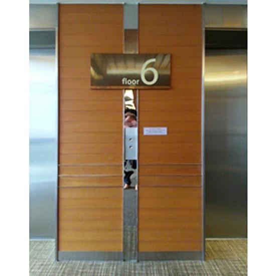 ป้ายหน้าลิฟท์ - บริษัท เอดี กราฟฟิก จำกัด - ป้ายแจ้งชั้น