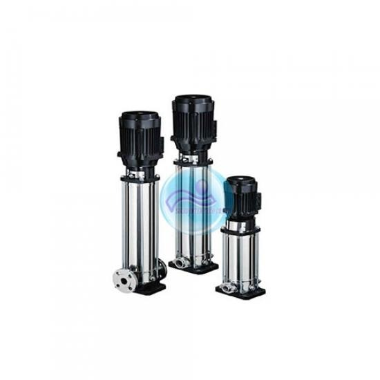 ปั๊มสเตนเลสแรงดันสูงหลายใบพัดทรงตั้ง ปั๊มสเตนเลสแรงดันสูงหลายใบพัดทรงตั้ง  ระบบสูบน้ำ  บริษัทจำหน่ายปั๊มน้ำ  ระบบแรงดันน้ำอุตสาหกกรม  จัดการระบบน้ำเสียโรงงาน