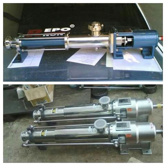 เครื่องสูบแบบ Screw Mono Pump - บริษัท กนกหิรัญ เอ็นจิเนียริ่ง จำกัด