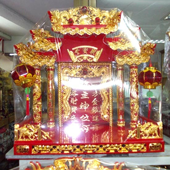 ศาลเจ้า ศาลเจ้าจีน ตี่จู่เอี้ย ศาลเจ้าไม้จีน ศาลเจ้าหินอ่อน ศาลเจ้า โต๊ะหมู่บูชา หิ้งพระ อุปกรณ์การบูชา