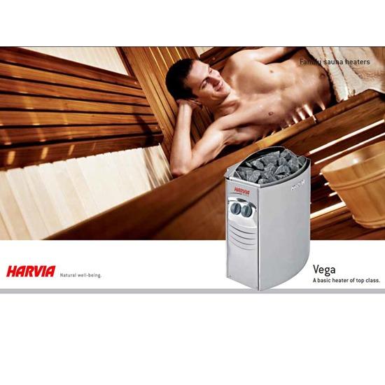 Vega - A basic heater of top class , from HARVIA - บริษัท โมชั่น กรุ๊ป จำกัด