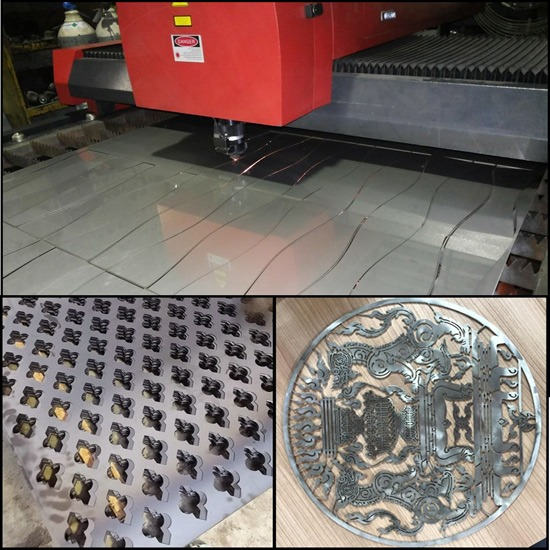 งานตัดเลเซอร์  Laser Cut  - บริษัท สินชัย เจริญโลหะ จำกัด