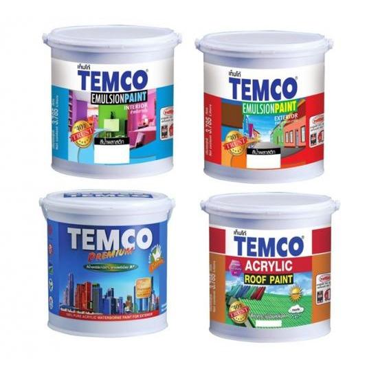สีน้ำพลาสติกภายใน ภายนอก, สีน้ำพรีเมี่ยม, สีทากระเบื้อง สี  งานทาสี  งานทาสีภายนอกอาคาร  งานสีย้อมไม้  งานกันซึม  งานพื้น  งานทำความสะอาด  งานทาสีภายในอาคาร  ทินเนอร์  กาว
