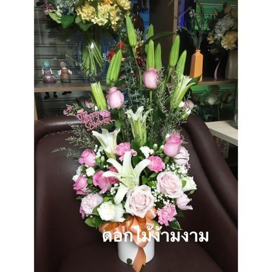 รับจัดแจกันดอกไม้ รับจัดแจกันดอกไม้