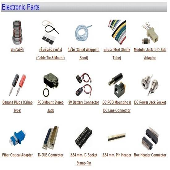 อุปกรณ์อิเล็กทรอนิกส์ปลั๊ก คอนเนคเตอร์ แจ๊ค รีเลย์ สายไฟ  - บริษัท อีคิว อินดัสเทรียล คอนเน็คชั่น จำกัด - เครื่องมือวัดทางไฟฟ้า เครื่องมือวัดทางอิเล็กทรอนิกส์ เครื่องมือวัดทางอุตสาหกรรม เครื่องมือวัด เครื่องมือช่าง อะไหล่อุปกรณ์เครื่องจักร ซ่อมเครื่องมือวัด ข้อต่อไฮดรอลิค ข้อต่อไฮโดรลิค อุปกรณ์แมคคานิค ข้อต่อลม อุปกรณ์ลม อุปกรณ์อิเล็กทรอนิกส์ ซ่อมเครื่องมือวัดทางไฟฟ้า น็อต สกรู fitting ไฮดรอลิค ไฮดรอลิก สายลม