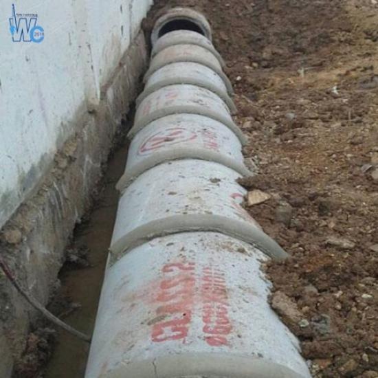 งานวางท่อระบายน้ำ - วันชัยรวมช่าง 2518 รับเหมาเทพื้นถนน - งานวางท่อระบายน้ำ