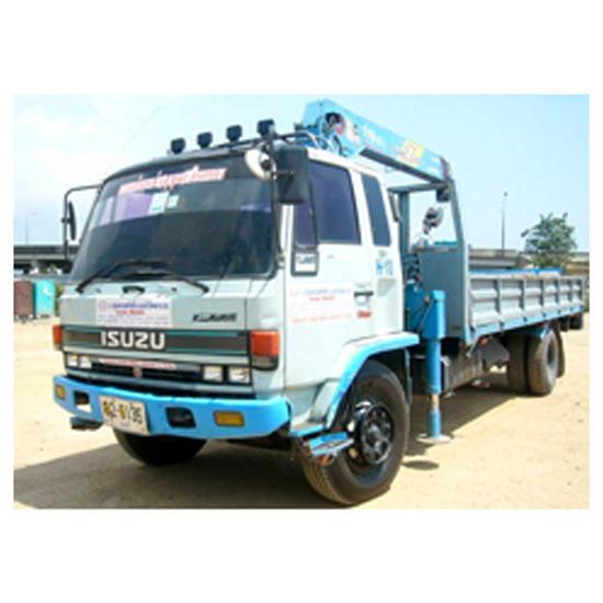 รถบรรทุกติดเครน ( Truck Loader)  - รถเครนให้เช่า-สุขุมคอนสตรัคชั่น - รถบรรทุกติดเครน ( Truck Loader)