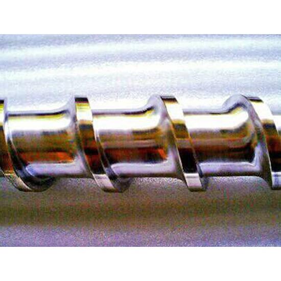 สกรูที่ซ่อมเรียบร้อยแล้ว - บริษัท บี ไบเมทัลลิค จำกัด - จำหน่ายสกรูสำหรับเครื่องฉีดพลาสติก สกรูเครื่องหลอม ชนิดพ่นพอก ทังสเตนคาร์ไบท์ bimetallic screw ไบเมทัลลิค สกรูชุบผิวแข็งอินดักชั่นฮาร์ดโครมม induction hard chrome สกรูชุบไนไตรฮาร์ดโครม nitride hard chrome ชุบไนไตรดิ้ง nitriding ขัดเงา สกรูไนไตร์ด สกรูหลอมคาร์ไบด์ หัวฉีดสกรู สกรูรีดพลาสติก สกรูฉีดพลาสติก สกรูเป่าถุงพลาสติก กระบอกฉีดพลาสติกไนไตร์ด barrel nitride