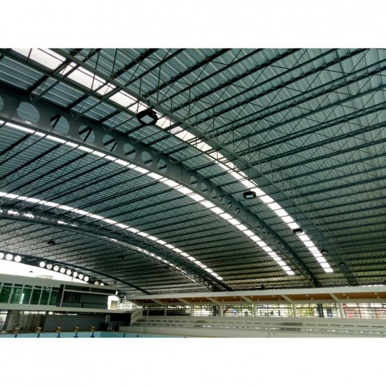 Roof frame swimming stadium Roof frame swimming stadium