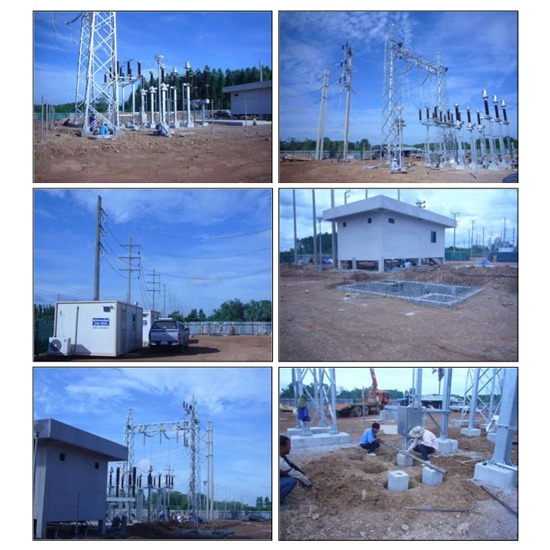 PROJECT : 115 KV. AIS Substation - บริษัท อะโกรเทค เอ็นเนอร์ยี จำกัด