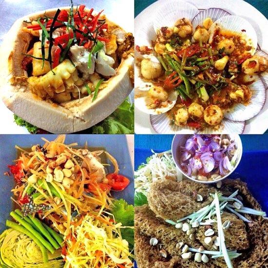 เมนูอาหารซีฟู้ด อาหาร ร้านอาหาร ร้านอาหารทะเล อาหารทะเล อาหารซีฟู้ด ซีฟู้ด อาหารอร่อย