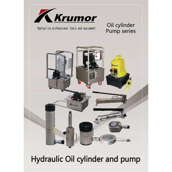 กระบอกสูบไฮดรอลิก (KRUMOR : Hydraulic Oil Cylinder and Pump) - บริษัท เอสซีพีพี เอ็นจิเนียริ่ง จำกัด - กระบอกสูบไฮดรอลิก ปั๊มไฮดรอลิก
