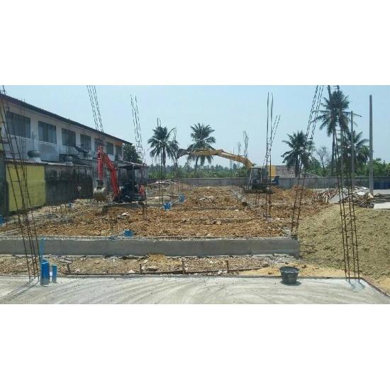 งานสร้างบ้านเดี่ยว - ห้างหุ้นส่วนจำกัด ทีแอนด์บี รับสร้างบ้าน