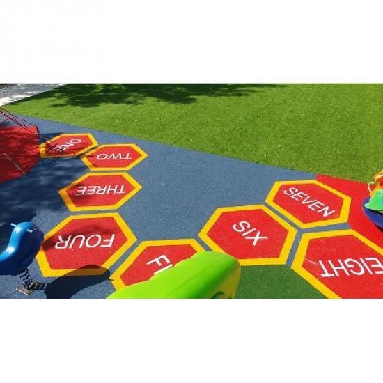 พื้นยางสังเคราะห์ พื้นยางสังเคราะห์  epdm  พื้นสนามเด็กเล่น  playground