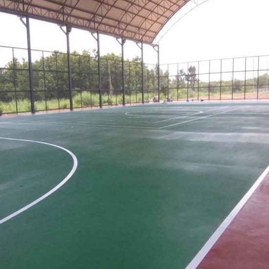 Sport Floor - พื้นอีพ็อกซี่พียู พีเค ซีวิล - Sport Floor เคลือบพื้นคอนกรีต
