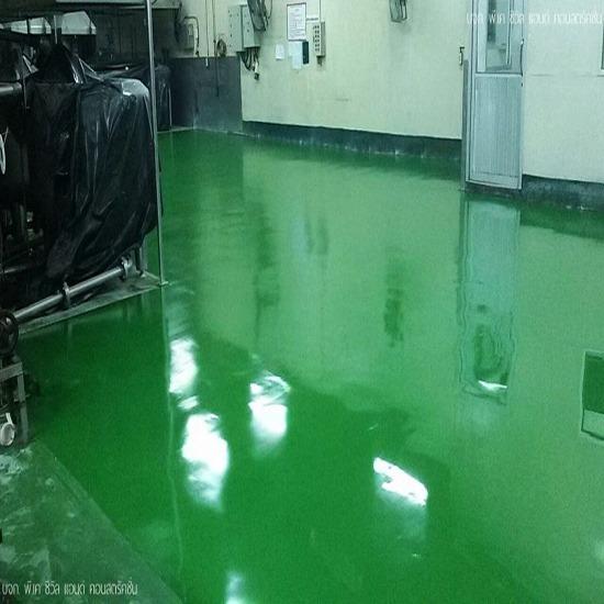 Polyurethane Floor - พื้นอีพ็อกซี่พียู พีเค ซีวิล - Polyurethane Floor เคลือบพื้นคอนกรีต