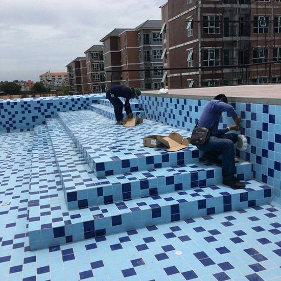 รับสร้างสระว่ายน้ำ - เค สวิมมิ่งพูล - รับสร้างสระว่ายน้ำ  สระคอนกรีต  สระว่ายน้ำครบวงจร