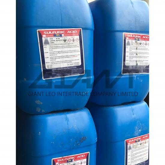 Sulfuric Acid 50%, 98% กรดกำมะถัน - Giant Leo Intertrade Co Ltd