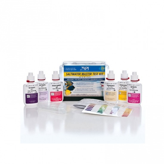 Test Kits AMMONIA TEST KIT KH TEST KIT GH & KH TEST KIT PH TEST KIT pH TEST & ADJUSTER KIT HIGH RANGE PH