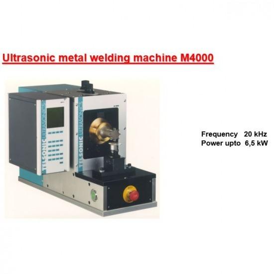 เครื่องเชื่อมโลหะด้วยอัลตร้าโซนิค Ultrasonic Metal Welding  Ultrasonic Crimping  Ultrasonic Wire Harness