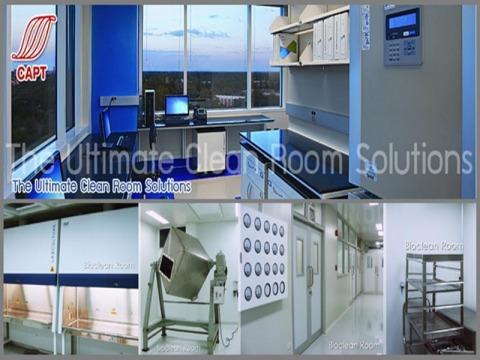 อุปกรณ์ห้องห้องคลีนรูม - รับออกแบบและสร้างห้องคลีนรูม คลีนแอร์ โปรดักท์