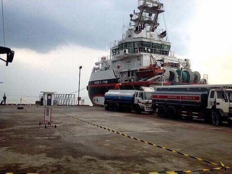 ขนส่งน้ำมันเชื้อเพลิง - Thai Pramual Oil Co Ltd
