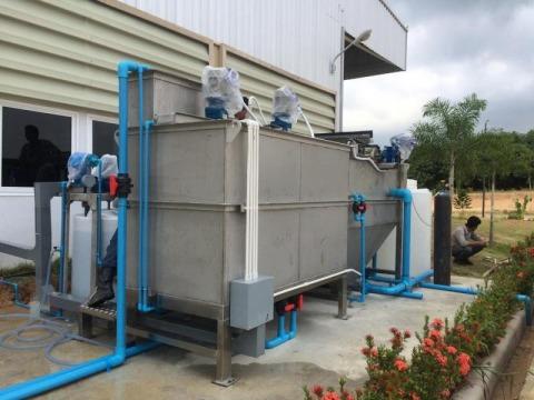 ปรับปรุงระบบบำบัดน้ำโรงงาน - ระบบบำบัดน้ำเสียโรงงาน อาคาร โซลิด อินเตอร์เทค