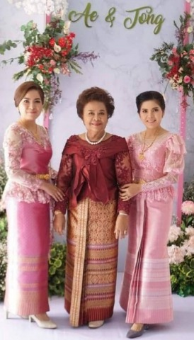 ชุดราตรี สุราษฎร์ธานี - Beauty Thai Silk