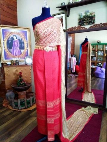 ออกแบบชุดผ้าไหม สุราษฎร์ธานี - Beauty Thai Silk