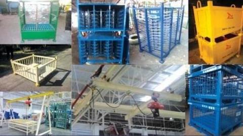 งานโครงสร้างโลหะ  - บริษัท พูนทรัพย์ ออโตเมชั่น เทคโนโลยี จำกัด
