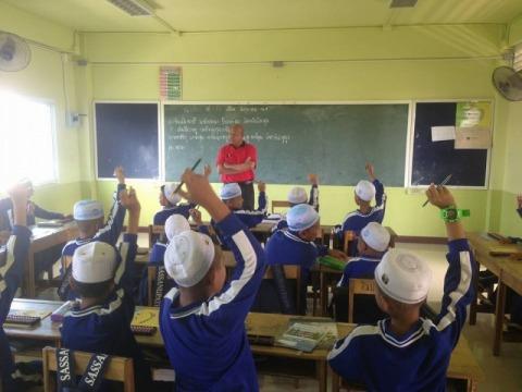 โรงเรียนแห่งหนึ่งในกระบี่ - บริษัท เบรนบาลานซิ่ง จำกัด