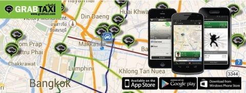 แอพพลิเคชั่นแกร็บ - แกร็บแท็กซี่ ประเทศไทย