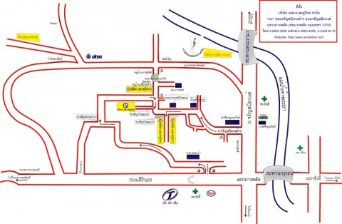 Picture Map - S J Screwthai Co Ltd