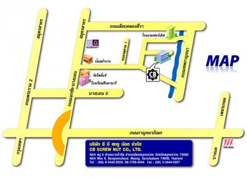 Picture Map - C B Scrunot Co Ltd