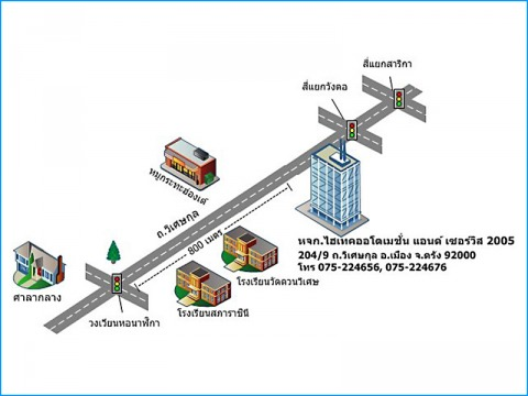 Picture Map - Hitech Automation And Service 2005 LP