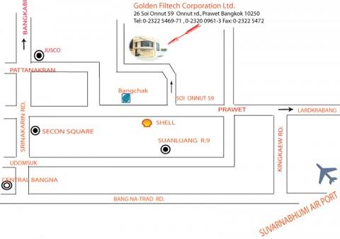 Picture Map - Golden Filtech Corporation Co Ltd
