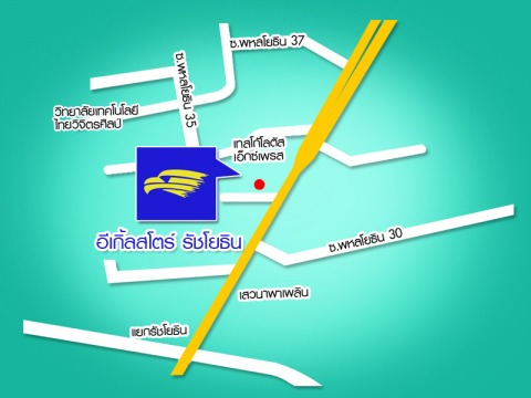 Picture Map - Eagle Store Ratchayothin
