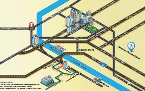 Picture Map - Ainterol Cargo Co Ltd