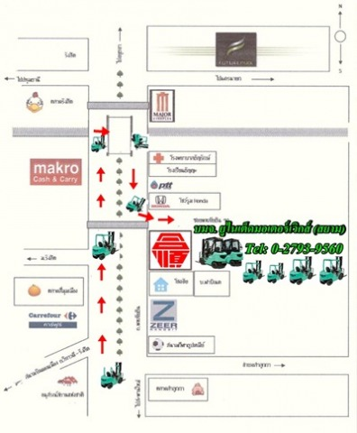 Picture Map - United Motor Works (Siam) Public Co Ltd