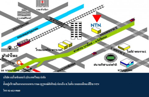 Picture Map - Bearings Center (Thailand) Co Ltd