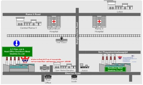 Picture Map - Soonthorn Metal Industries Co Ltd