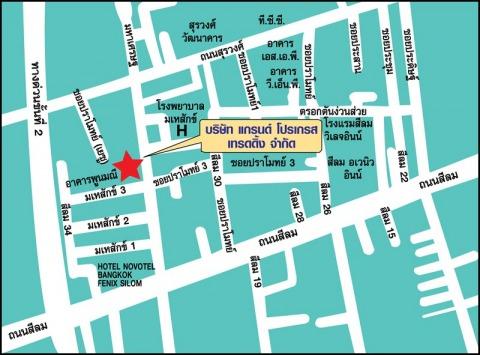 Picture Map - Grand Progress Trading Co Ltd