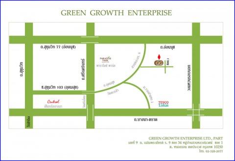 Picture Map - Green Growth Enterprise LP