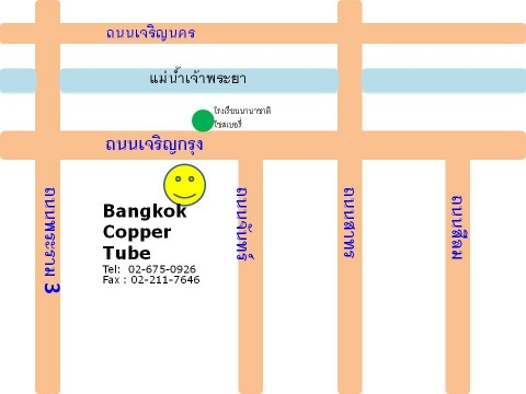 Picture Map - Bangkok Copper Tube LP