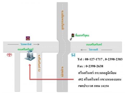 Picture Map - Srinakarin Glass Aluminium