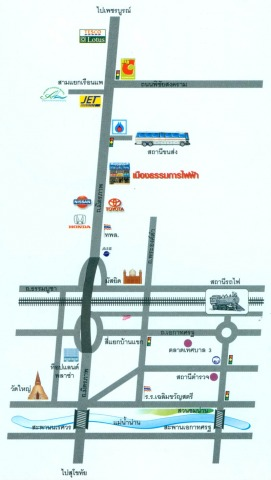 Picture Map - ห้างหุ้นส่วนจำกัด เมืองธรรมการไฟฟ้า