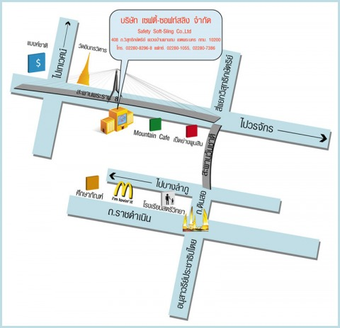 Picture Map - Safety Soft-Sling Co Ltd